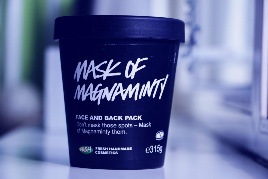 maseczka lush. Mask of magnaminty