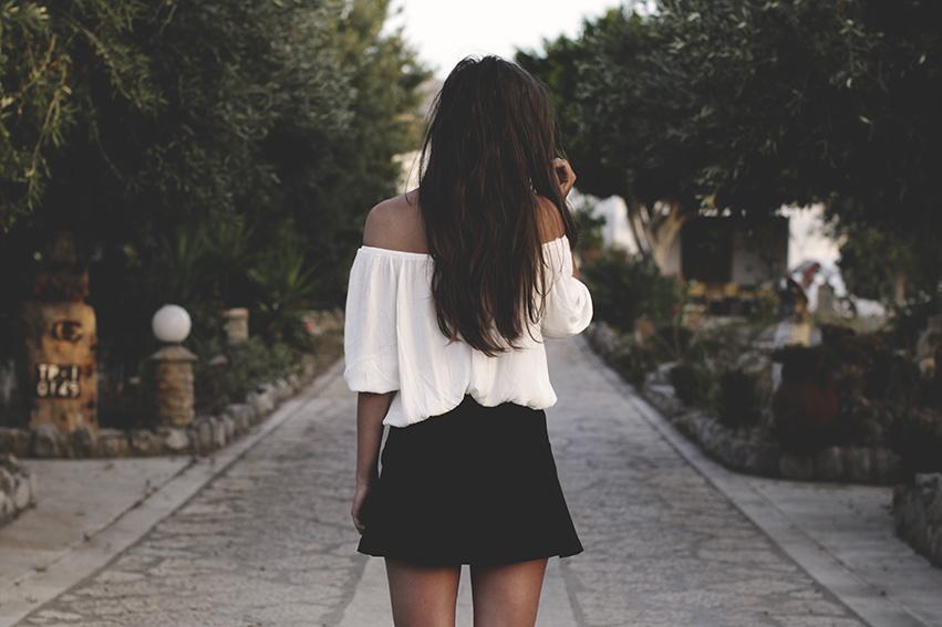 black & white summer