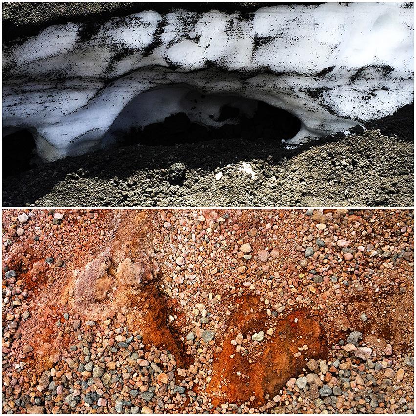 pył wulkaniczny izolacja dla śniegu