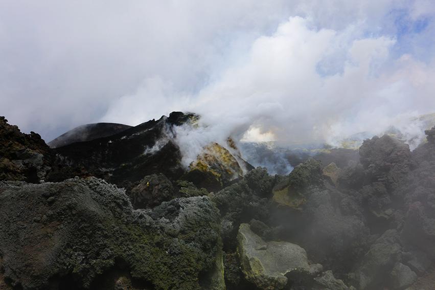 wycieczka na wulkan
