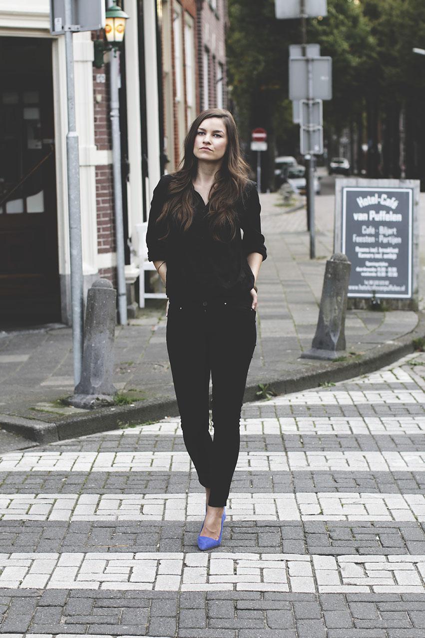 elegancka czern