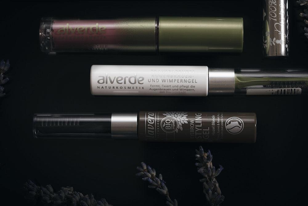 zel do brwi lavera, naturalny makijaz oka